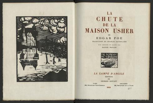 Traduction par charles baudelaire bois design s et grav s for A la maison translation