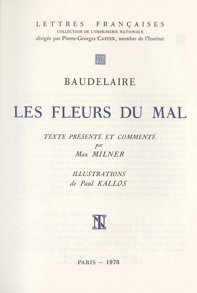 Baudelaire, Benjamin and the Birth of the Flâneur