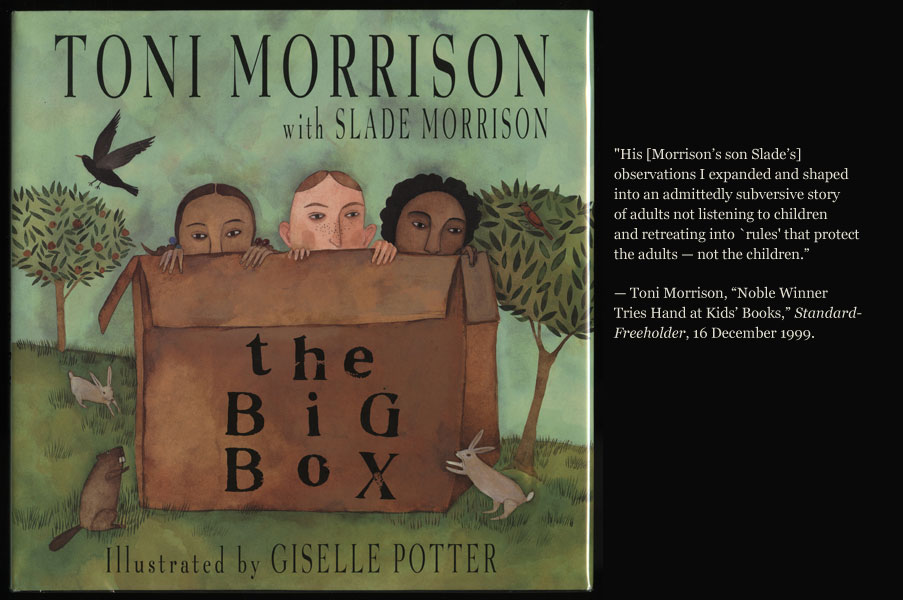 a biography of toni morrison and role in american literature