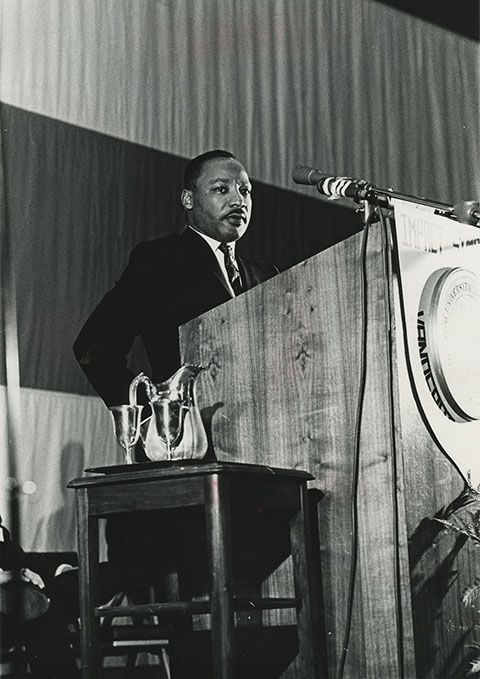 """the impact of martin luther king Each year on this day, i make it a point to listen to dr martin luther king jr's great """"i have a dream"""" speech it's electrifying every single time the content of dr king's speech, his inspiring presence, and the moment in history all came together to make the iconic """"i have a dream."""